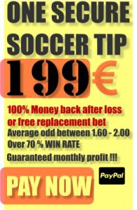 One secure soccer tip
