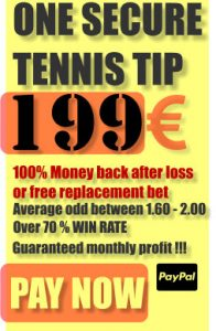One secure tennis tip